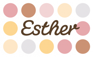 Logo der Esther Confiserie aus Kulmbach in Oberfranken