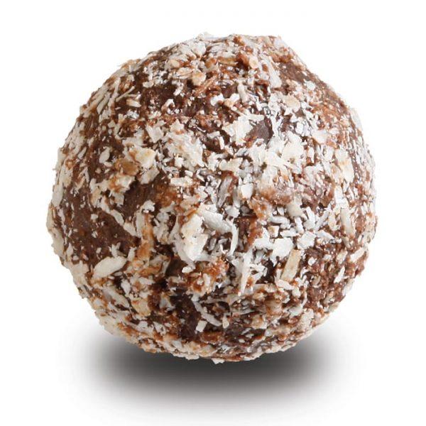 Kokosnuss Sahne Trüffel in Zartbitterschokolade der Esther Confisierie aus Kulmbach in Oberfranken