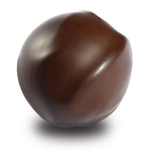 Marzipan Kirsch Praline in Zartbitterschokolade der Esther Confisierie aus Kulmbach in Oberfranken