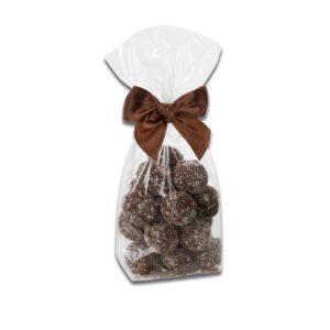 200 Pralinenbeutel mit Kokos Sahne Trüffel der Esther Confiserie