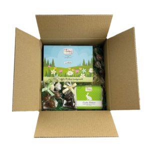 Osternest im Wert von 30 Euro der Esther Confiserie - Schokoladen und Pralinen handgemacht