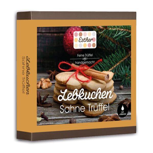 9er Packung Lebkuchen Trüffel der Esther Confiserie aus Kulmbach in Oberfranken