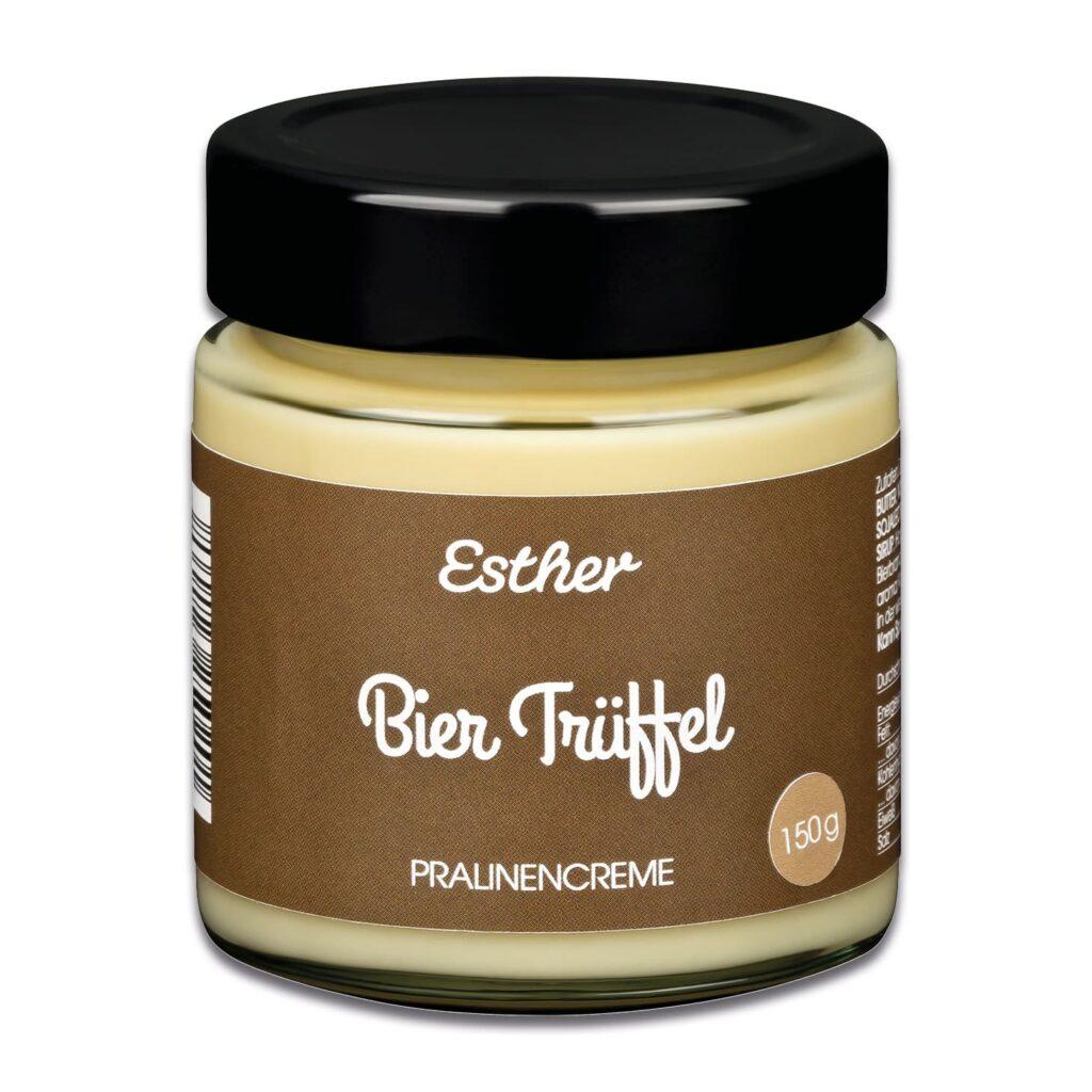 Bier Trüffel Pralinencreme der Esther Confisierie aus Kulmbach in Oberfranken