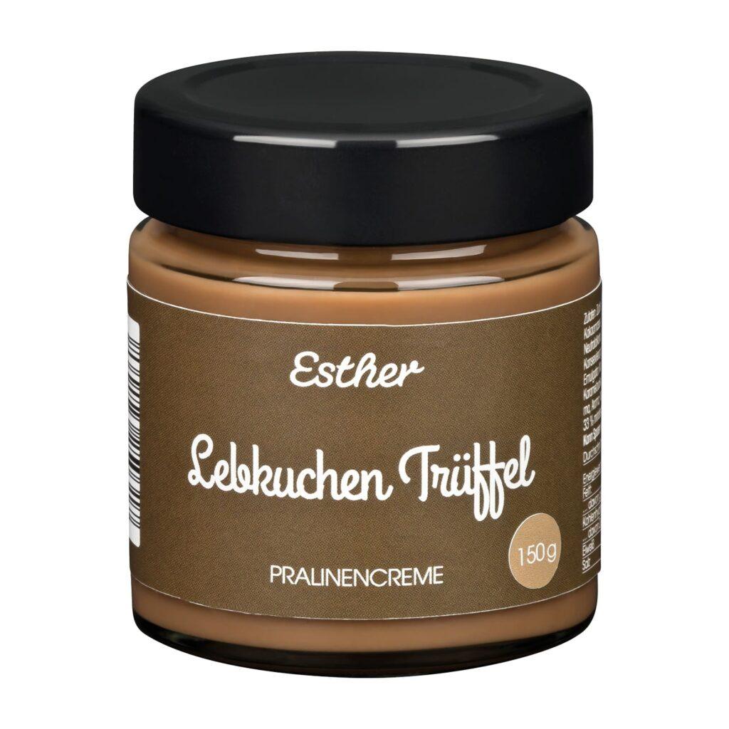 Pralinencreme Lebkuchen Trüffel der Esther Confiserie aus Kulmbach in Oberfranken