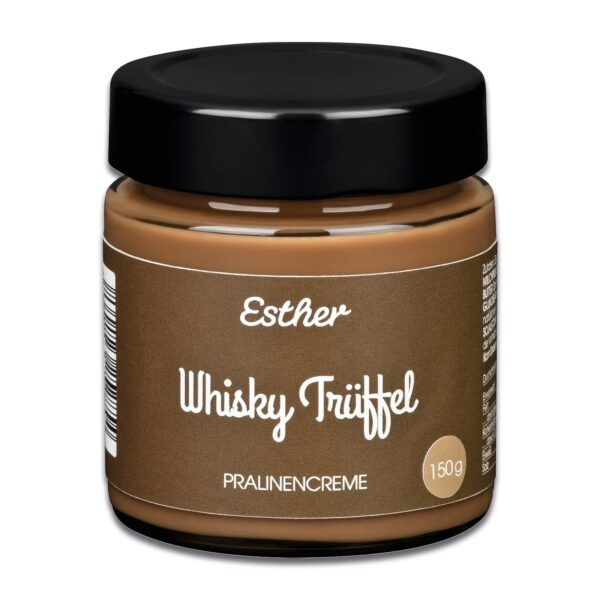 Pralinencreme Whisky Trüffel der Esther Confiserie aus Kulmbach in Oberfranken