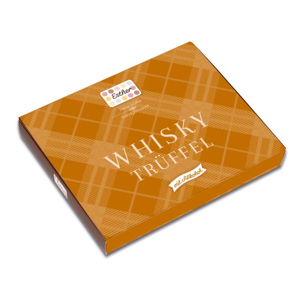 16er Packung Whisky Trüffel der Esther Confiserie aus Kulmbach in Oberfranken