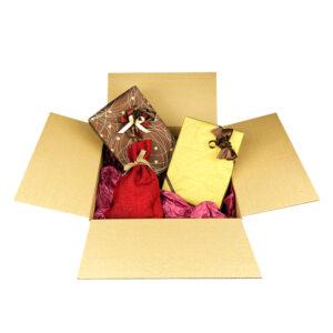 Weihnachtslicher Geschenkservice - Einpackservice Plus